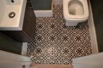 cloakroom floor
